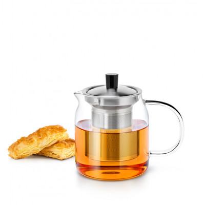 Стеклянный заварочный чайник с фильтром SAMADOYO S-045 700 мл