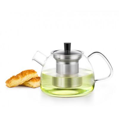 Стеклянный заварочный чайник с фильтром S-051 900 мл купить в магазине SAMA-DOYO.RU