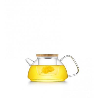 Заварочный чайник со стеклянным фильтром SAMADOYO S-092 600 мл
