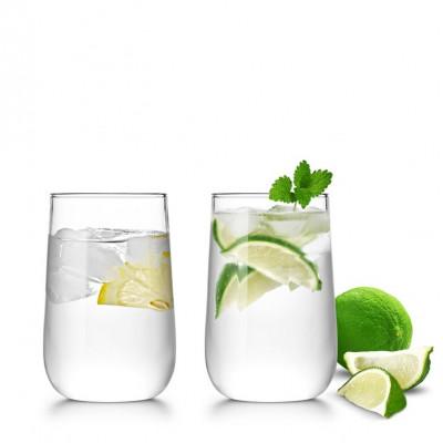 Стеклянные стаканы SAMADOYO CP-31 (2 шт. в комплекте) 300 мл